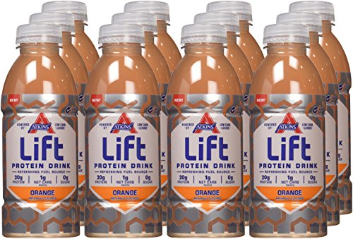 Lift Protein Drink, Orange, 16.9 Ounce (Pack of 12)