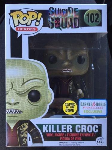 Funko Pop! Heroes #102 Killer Croc Glow Exclusive