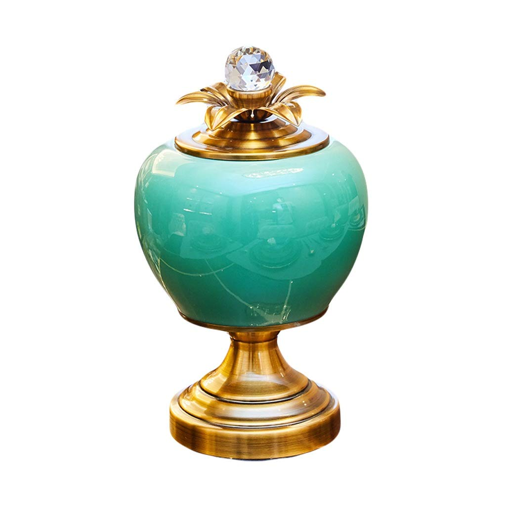 MAHONGQING 花瓶ネオクラシックヨーロッパレトロリビングルームテーブルホームソフトデコレーションセラミックテーブルトップ花瓶フラワーアレンジメントセット装飾 B07RZ6B9CP