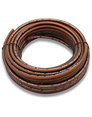 Welugnal 8 Gauge 41ft Brown Power/Ground Wire True Spec and Soft Touch Cable for Car Amplifier Automotive Trailer Harness Wiring