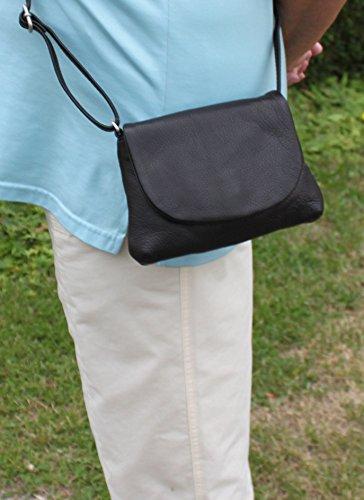 Mujer 42720de negro Disco Funda Oferta Especial (piel de napa Greenburry