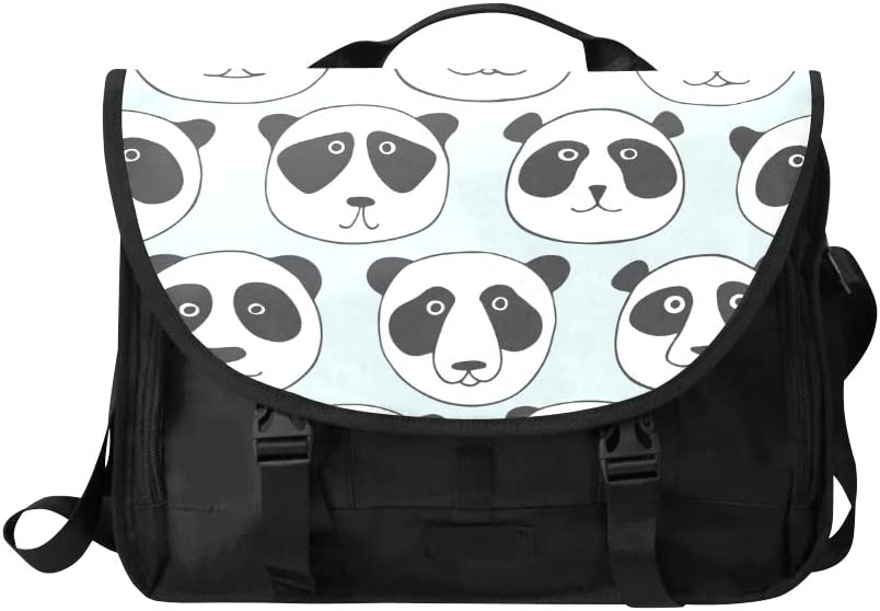 Briefcase Laptop Bag Cartoon Cute Panda Multi-Functional Classic Fashion Bags Fit for 15 Inch Computer Notebook MacBook