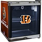 Glaros Officially Licensed NFL Beverage Center / Refrigerator - Cincinnati Bengals