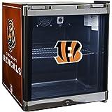 Glaros Officially Licensed NFL Beverage Center / Refrigerator - Cincinnati Bengals