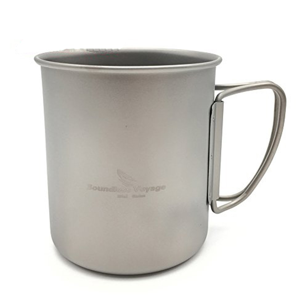Igo Online Shop 300ml Titanium Cup Folding Mug Camping Cup Without Cover