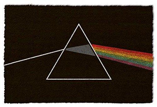 1art1 Pink Floyd Door Mat Floor Mat - Dark Side of The Moon (24 x 16 inches) from 1art1