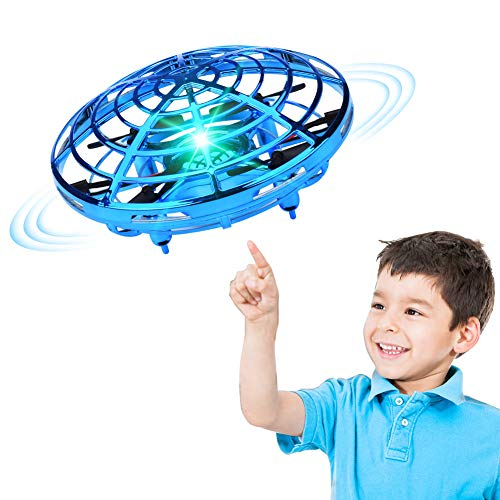 XINHOME Hand Operated Drone for Kids Adults – Hands Free Mini Drones for Kids, Easy Indoor Hand Drone, Flying Ball Drone…