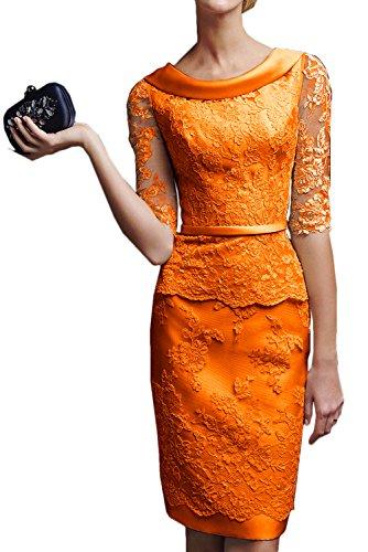 para Topkleider mujer Estuche naranja Vestido REq6rHnOR