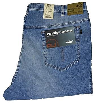 Jeans-Hose Revils stone washed Übergröße, amerik. Hosengröße in inch ... dfb1cfb2c4