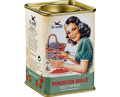 Pimenton Dulce Mild Paprika 160 G Century Blend Collectible Tin