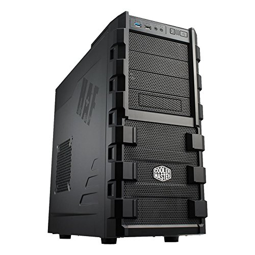Cooler Master HAF 912 – Mid Tower Computer Case with High Airflow, Supporting up to Six 120mm Fans and USB 3.0