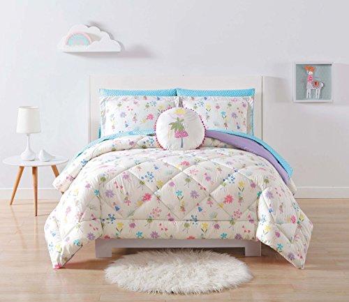 - Laura Hart Kids Comforter Set Twin XL, Garden Fairies