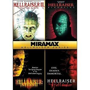 Miramax Hellraiser Series (Hell on Earth / Bloodline / Inferno / Hellseeker)