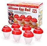 Egg cooker-Hard boiled egg maker- Without egg shell, Egglettes cooker, Silicone eggs cooker.