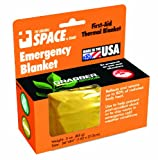 Grabber Outdoors The Original Space Brand Emergency Survival Blanket- Gold/Silver (Pack of 3)