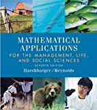 Mathematical Applications, Ronald J. Harshbarger and James J. Reynolds, 0618293582