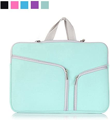 Laptop Carrying Sleeve Travel Bag Case for 13.3 Inch Macbook Air Pro Green New