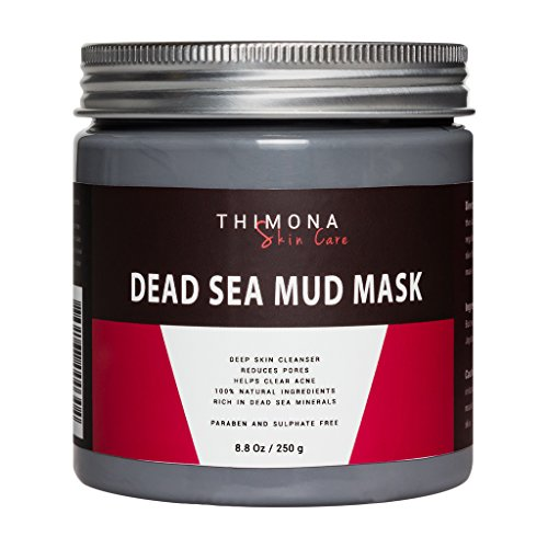 Thimona Skin Care Pure Dead Sea Mud Mask- 8.8 oz- Facial Cleanser For Acne- Revitalizes & Tones - Nectar Customer Services
