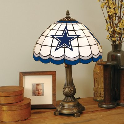 The Memory Company NFL Dallas Cowboys Tiffany Table Lamp