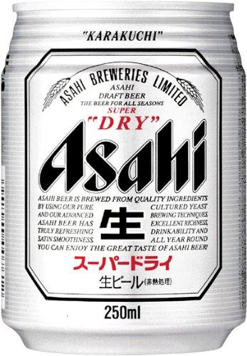 アサヒ スーパードライ (250ml×24本)×3ケース  B009ASEFFY