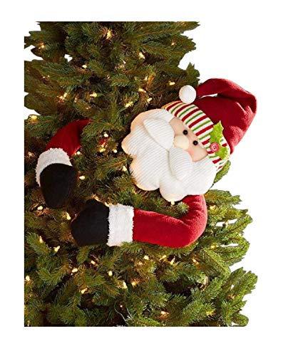 Collection Decorations Santa - The Lakeside Collection Holiday Tree Huggers - Santa