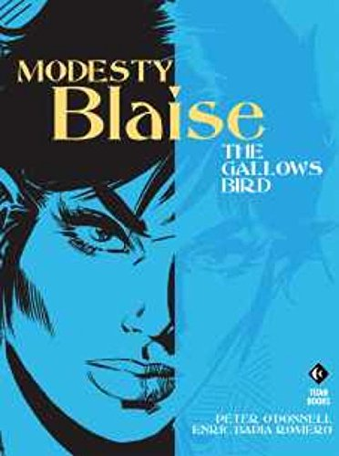 Modesty Blaise: The Gallows (Funny Cartoons About Halloween)
