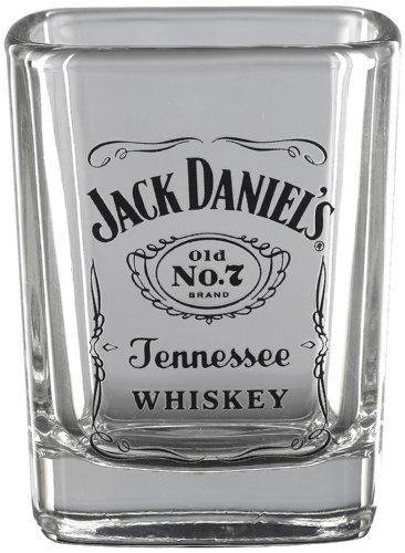 Jack Daniel's Licensed Barware Label Logo Shot - Jack Daniels Glasses