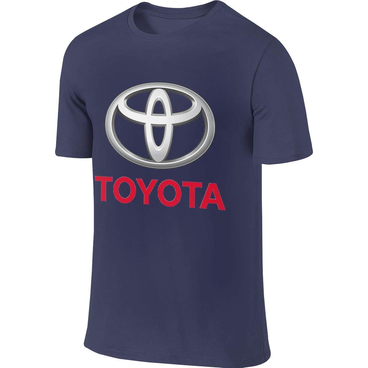 KAMEOR Playera con Logo de Toyota para Hombre - Azul Marino - 4X ...
