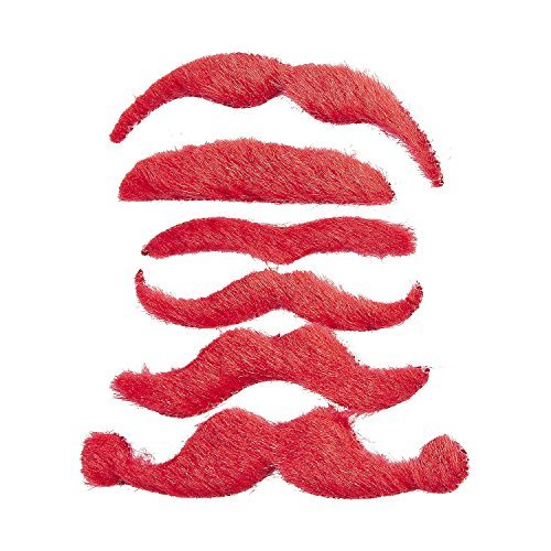 Red Mustache Assortment -