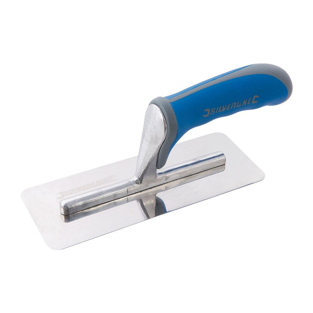 Silverline Tools 967556/200/mm Soft Grip Mini truelle /à cr/épir/ /Bleu