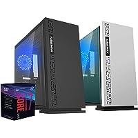 Pc desktop intel i7 8700 4,60 ghz turbo sixcore,Ram 8gb ddr4,Ssd 240 Gb,Windows 10 professional,Pc assemblato,Pc fisso ufficio casa,Desktop,Computer fisso