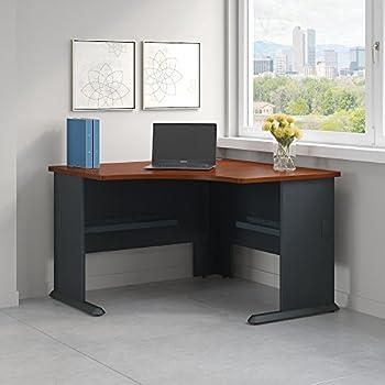 Amazon Com Corner Computer Desk Workstation Antiqued