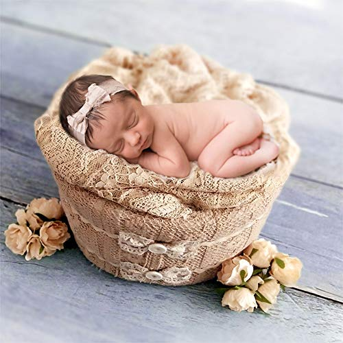 Newborn Foam Bucket Photography Props 0-6 Months Professional Posing Aid (Knot) by Leo Skye (Image #2)
