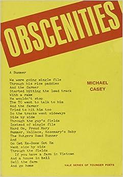 Book Obscenities