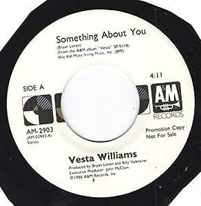 Something about you / Vinyl Maxi Single : Vesta Williams