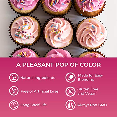 ColorKitchen Red Velvet Food Coloring Powder (1lb Bulk Bag) - All Natural with No Artificial Dyes by ColorKitchen (Image #2)