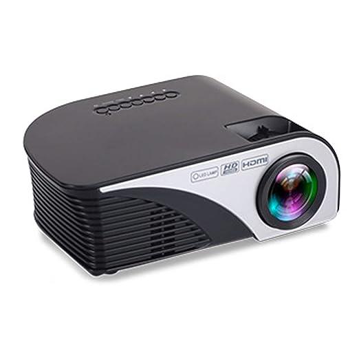 TYY Mini Proyector HD 1080P Mini, Portátil LED para El Hogar ...