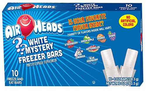 (Airheads Freezer Bars, White Mystery (12 Boxes, 10 - 1 oz bars per box))