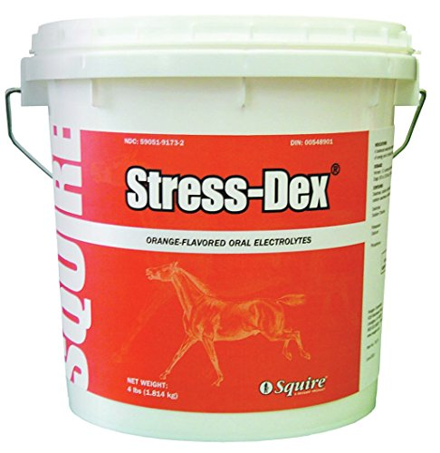 NEOGEN SQUIRE 580201 Stress-Dex Oral Electrolyte For Horses, 4 lb (Supplements Dex)