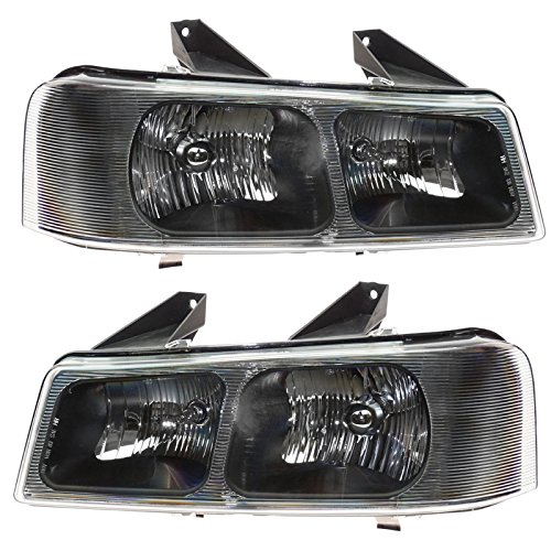 - Headlights Headlamps Pair Set of 2 LH & RH for 03-13 Savanna Chevy Express Van