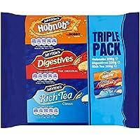 Mcvitie'S Digestives, Hobnobs & Rich Tea Pack 750G
