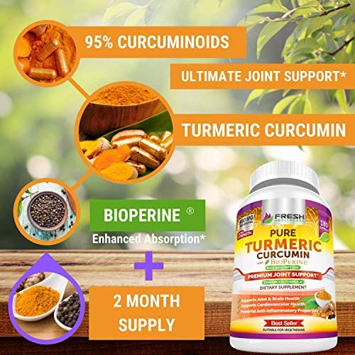 Apple Cider Vinegar and Turmeric Curcumin - Bundle 5