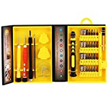 38 in 1 Hand Tools Kits With Organised Precision Screwdriver Bits Set For Home Toys,Games Machine,Cell Phone,Laptop and Other Telecommunication Devices