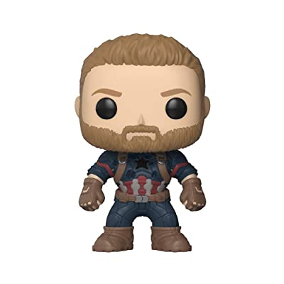 Funko POP! Marvel: Avengers Infinity War - Captain America: Funko Pop! Marvel:: Toys & Games