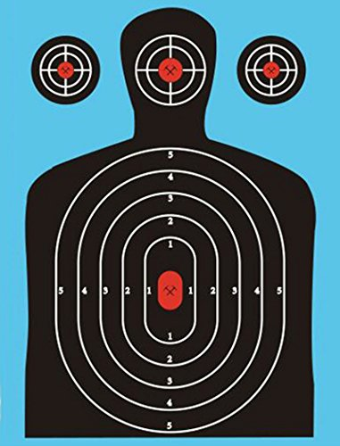 50 Reactive Shooting Targets (Blue) Sharp Shots