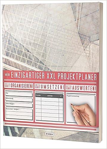 """Kontakte uvm // PR201 Textures/"""" // DIN A4 Soft Cover Mein Einzigartiger XXL Projektplaner: Planen Umsetzen // 122 Seiten Auswerten Register"""