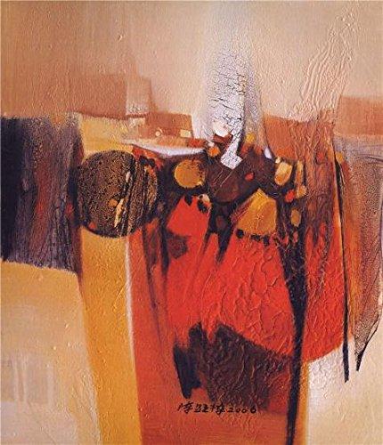 ポリエステルキャンバス、鮮やかなアートの装飾プリントキャンバスの油絵現代抽象油彩画`、10x 12インチ/ 25x 30cm is best for寝室装飾とホームデコレーションとギフトの商品画像