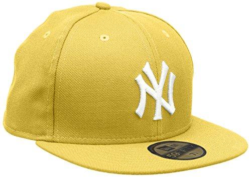 Ny white New Era Yankees Fifty Visiera Con Cappello Yellow 59 xpwz6qawt