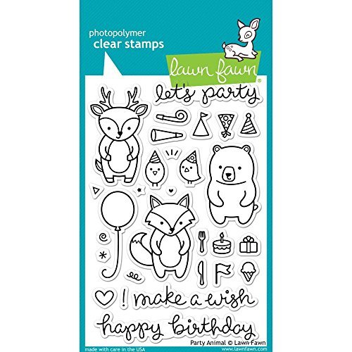 - Lawn Fawn Party Animal Clear Stamp LF893