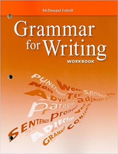 Grammar for writing workbook